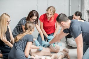 Basic life-saving courses are available through KC First Aid.