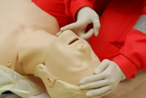 KC First Aid offers different basic life saving certification classes.