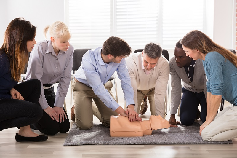 Schedule CPR classes for your employees for 2019.